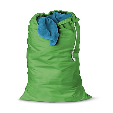 Honey Can Do® 36in. x 24in. Jersey Cotton Laundry Bag, Green