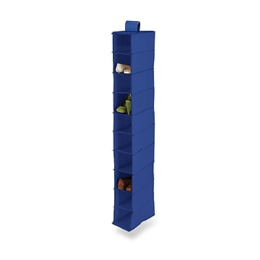 Honey Can Do® 10 Shelf Hanging Vertical Closet Organizer, Navy