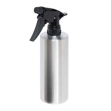 HoneyCanDo® Stainless Steel Spray Bottle, Silver