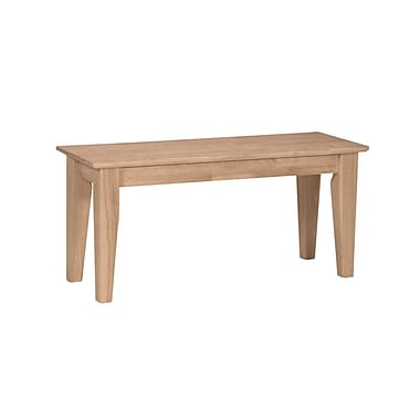 International Concepts BE-39 Wood Bench