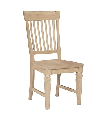 International Concepts Parawood Tall Java Chair, Unfinished 229225