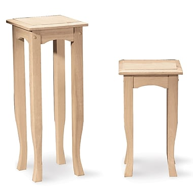 International concepts 30 x 12 x 12 wood tea table for 12 x 30 table