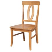 International Concepts Wood Cosmo Verona Chair, Aged Cherry