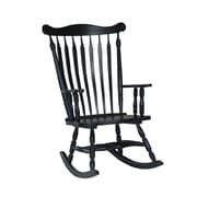 International Concepts Rocking Chair, Antique Black (R37-120)