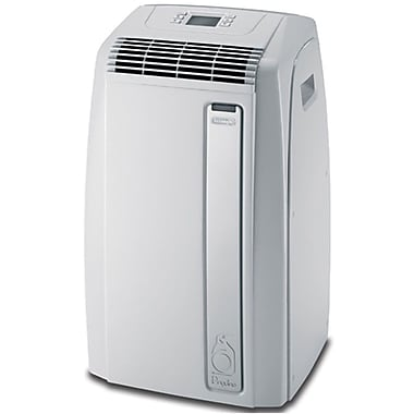 Delonghi PAC-A130HPE 13000 BTU Air-to-Air Portable Air Conditioner, White