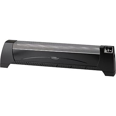 Lasko® 5624 1500 W Low-Profile Silent Room Heater, Black
