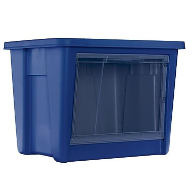 Rubbermaid All Access Organizers, Indigo - Medium
