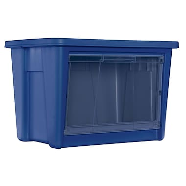 Rubbermaid All Access Organizers, Indigo - Large