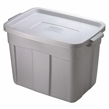 Rubbermaid® 18 gal Steel Roughneck Storage Box, Steel