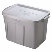 Rubbermaid® 18 gal Steel Roughneck Storage Box, Steel