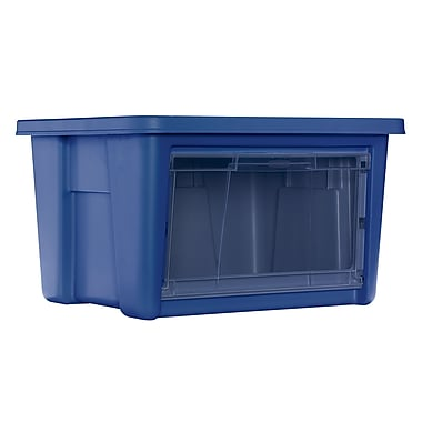 Rubbermaid All Access Organizers, Indigo - Small