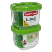 Rubbermaid® 5 Cup 2 Pack Snack Container, Guacamole