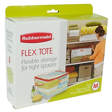Rubbermaid® 15 gal Medium Flexible Tote