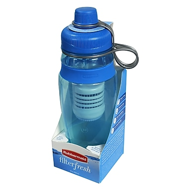 Rubbermaid® 20 oz. Filter Fresh Water Bottle, Baltic Teal