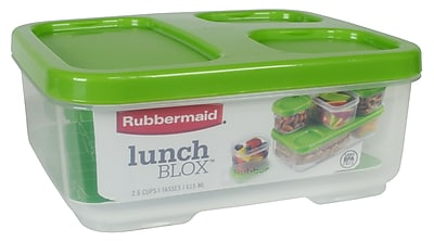 Rubbermaid 2.6 Cup Sandwich Container Guacamole