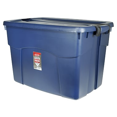Rubbermaid® 35 gal RYL BL Latching Storage Tote