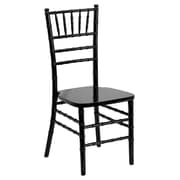 Flash Furniture Flash Elegance Wood Chiavari Chair, Black, 10/Pack