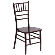 Flash Furniture Flash Elegance Supreme Wood Chiavari Chair, Mahogany, 20/Pack