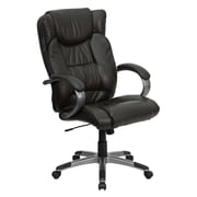 Flash Furniture BT9088BRN Executive Office Chair, Black