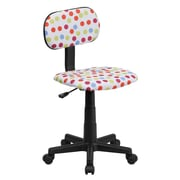Flash Furniture Ergonomic Fabric Computer Chair, Armless, Multicolor