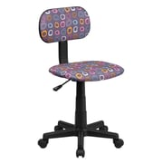 Flash Furniture Pattern Printed Computer Chair, Multi-Colored