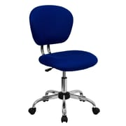 Flash Furniture H-2376-F-BLUE-GG Mesh Mid-Back Armless Task Chair, Blue
