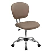 Flash Furniture Mid-Back Mesh Task Chair, Armless, Coffee Brown