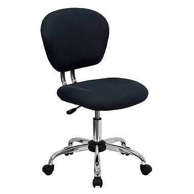 Flash Furniture Mesh Task Chair With Chrome Base, Gray