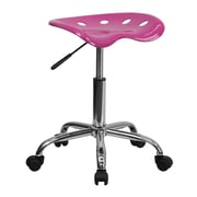 Flash Furniture Vibrant Tractor Stool, Candy Heart