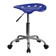 Flash Furniture Vibrant Tractor Stool, Nautical Blue