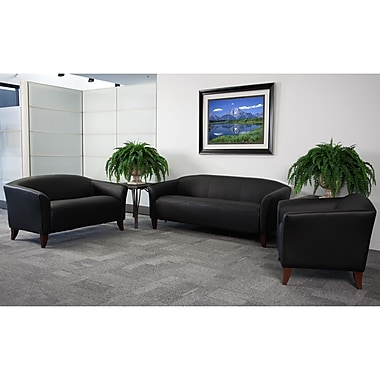 Flash Furniture Hercules Imperial Leather Reception Sets (111SET)