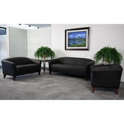 Flash Furniture HERCULES Imperial Series Reception Set, Black