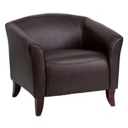 Flash Furniture HERCULES Imperial Series Leather Chair, Brown