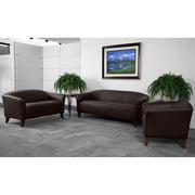 Flash Furniture HERCULES Imperial Series Reception Set, Brown