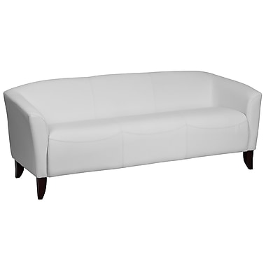 Flash Furniture HERCULES Imperial Series Leather Sofa, White