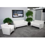Flash Furniture HERCULES Majesty Series Reception Set, White