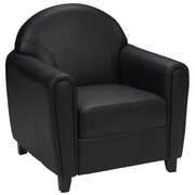 Flash Furniture HERCULES Envoy Series Leather Chair, Black