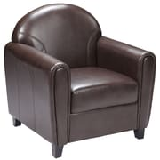 Flash Furniture Hercules Envoy Leather Chair, Brown
