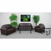 Flash Furniture HERCULES Envoy Series Reception Set, Brown