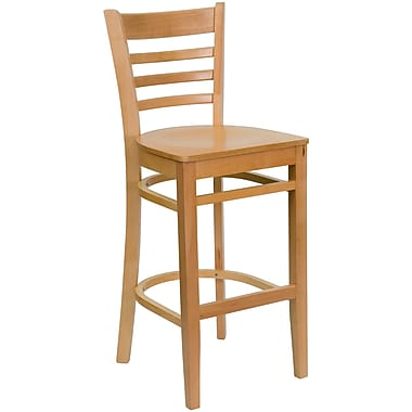 Flash Furniture xUW05BARNAT Bar Stool, Natural