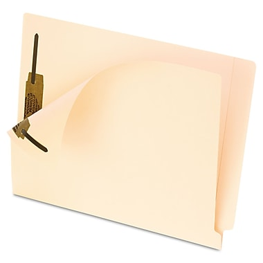 Oxford® Letter Straight Cut End Tab File Folder, Manila, 50/Pack
