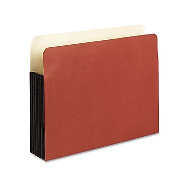 Esselte® Pendaflex® Letter Recycled Straight Cut File Pocket w/5 1/4in. Expansion, Red, 10/Pack