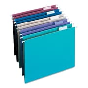 Smead® Letter 1/3 Cut Recycled Hanging Folder, Assorted, 25/Pack