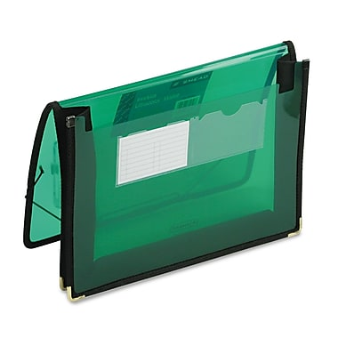 Smead® Letter Expanding Wallet, 2 1/4in. Expansion, Green