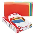 Pendaflex® Legal Recycled 1/3 Cut File Folder w/ 3/4in. Expansion, Assorted, 100/Pack