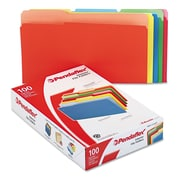 Pendaflex® Legal Recycled 1/3 Cut File Folder w/ 3/4 Expansion, Assorted, 100/Pack