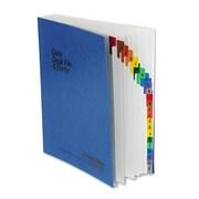 Pendaflex® Expanding Desk File, Pressguard® Cover, 23 (A-Z) Dividers, Blue (11015)