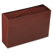 Smead® Legal 12 Pockets Expanding File w/7/8 Expansion, Redrope