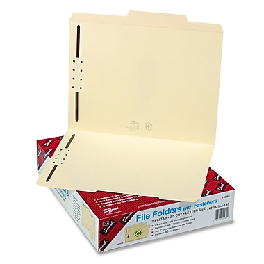 Smead® Letter Recycled Classification Folder w/ 3/4in. Expansion, Manila, 50/Pack