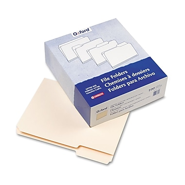Pendaflex® Letter 1/3 Cut File Folder w/ 3/4